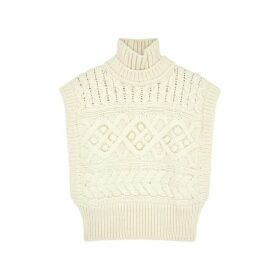 Isabel Marant Minea Textured-knit Wool Jumper