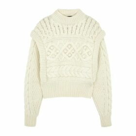 Isabel Marant Milane Textured-knit Wool Jumper