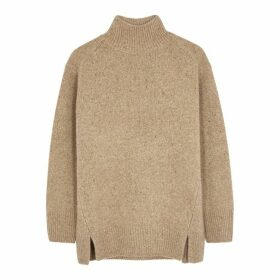 Vince Camel High-neck Cashmere Jumper