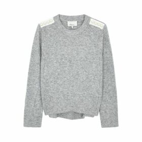 3.1 Phillip Lim Lofty Embellished Knitted Jumper