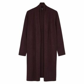 EILEEN FISHER Burgundy Cashmere Cardigan