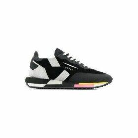 Ghoud Venice Rush Sneaker Black & Silver Glitter
