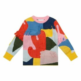 Stella McCartney Multi-coloured Fringed Jumper