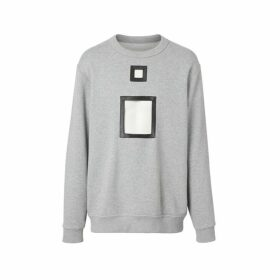 Burberry Cut-out Detail Cotton Sweatshirt