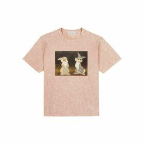 Rochambeau Thumper Tee - Pink