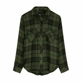 Rails Brent Checked Brushed Jersey Shirt