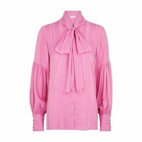 Hofmann Issa Pink Striped Blouse
