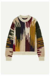 Isabel Marant - Delly Knitted Sweater - Brown