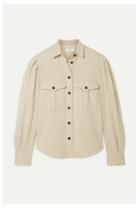 Isabel Marant Étoile - Florrie Wool-blend Shirt - Beige