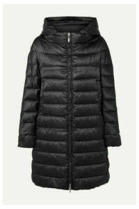 Max Mara - The Cube Reversible Hooded Quilted Shell Down Coat - Black