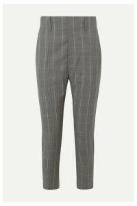 Isabel Marant Étoile - Noah Checked Wool Tapered Pants - Gray