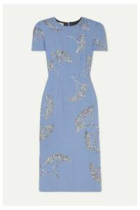 Dries Van Noten - Sequin-embellished Crepe Midi Dress - Lilac