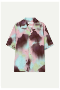 AMBUSH® - Embroidered Tie-dyed Voile Shirt - Pink