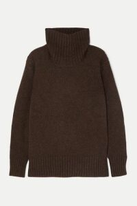 &Daughter - Fintra Wool Turtleneck Sweater - Brown