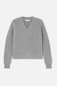 &Daughter - Inver Ribbed Wool And Cashmere-blend Sweater - Gray
