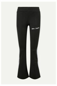 Palm Angels - Striped Satin-jersey Track Pants - Black