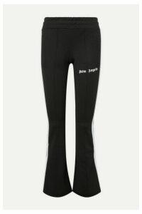 Palm Angels - Striped Satin-jersey Track Pants - Black