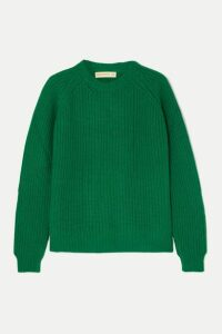 &Daughter - Moira Ribbed Wool Sweater - Green