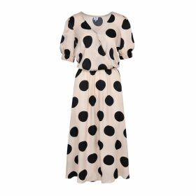 CocooVe - Maxine Blouse With Neck Tie In Green