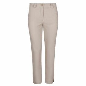 Tomcsanyi - Greta Blurred Flower Print Sheer Blouse