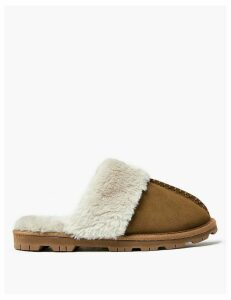 M&S Collection Suede Mule Slippers