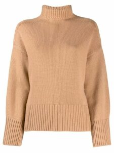 Loro Piana roll-neck sweater - Neutrals