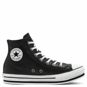 Leather Chuck Taylor All Star Platform