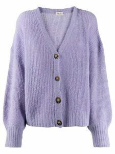 Baum Und Pferdgarten knitted cardigan - Purple