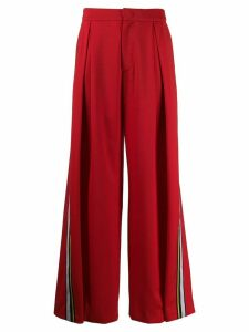 A.F.Vandevorst wide-leg trousers - Red
