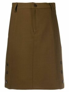 See by Chloé side button skirt - Brown