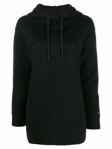 Calvin Klein loose fit logo hoodie - Black