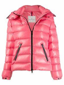 Moncler hoodie padded jacket - Pink