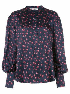 Chloé printed buttoned blouse - Blue
