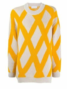 Christian Wijnants Karla crew neck jumper - Yellow