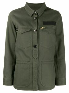 Zadig & Voltaire embroidered military shirt - Green