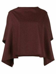 Toogood draped sleeves top - Red