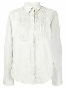 Zadig & Voltaire Fashion Show Chic Cuir shirt - White