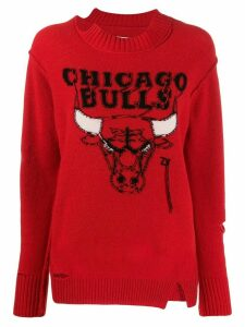 Zadig & Voltaire Fashion Show Adina Chicago jumper - Red