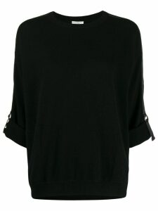 Brunello Cucinelli slim-fit sweater - Black