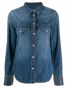 Zadig & Voltaire Fashion Show D Thelma denim shirt - Blue