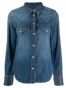 Zadig & Voltaire Fashion Show D Thelma denim shirt - Blue