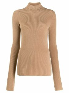 Barbara Bui roll neck jumper - Brown