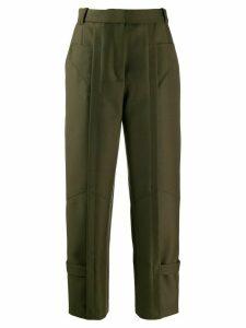 Barbara Bui high waisted trousers - Green