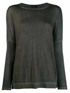 Avant Toi fine knit jumper - Grey