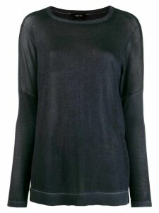 Avant Toi fine knit jumper - Blue