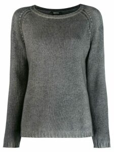 Avant Toi ribbed detail jumper - Grey