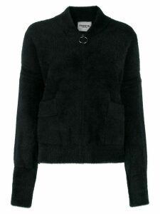 Essentiel Antwerp zip-up cardigan - Black