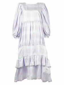 Vaquera 'Picnic' ruffled dress - Purple