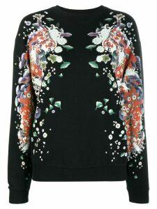 Givenchy floral print sweatshirt - Black