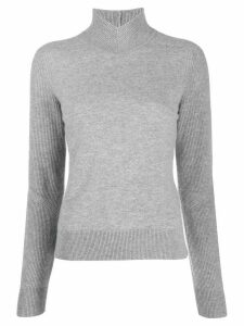 Rag & Bone ribbed panel top - Grey